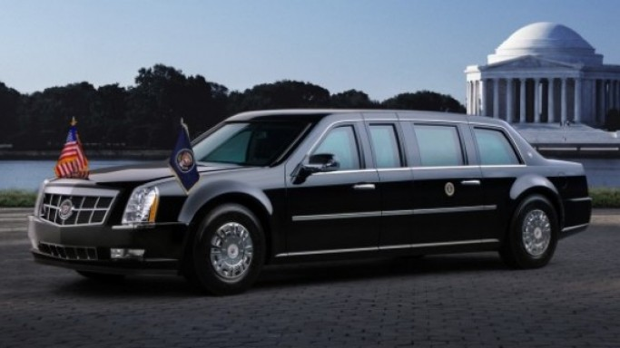 The grandest among the US President's cars is definitely his Cadillac limousine