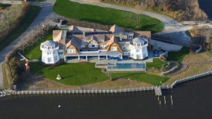 Mecox Bay's Water Mill Estate with its own private island listed at $40 Million
