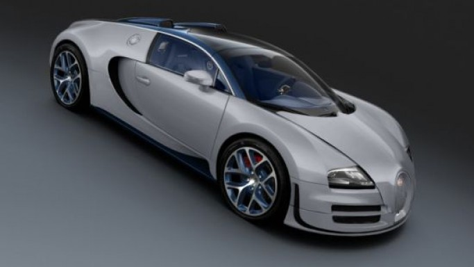 "Bugatti unveiled a one-off Veyron Grand Sport Vitesse ""Gris Rafale"" for $2.5 million"