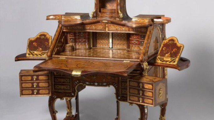 The Princely Furniture of the Roentgens owned by the French aristocrats and the royals