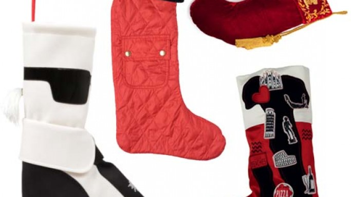 Selfridges offers Designer Christmas Stockings by Karl Lagerfeld and Henry Holland