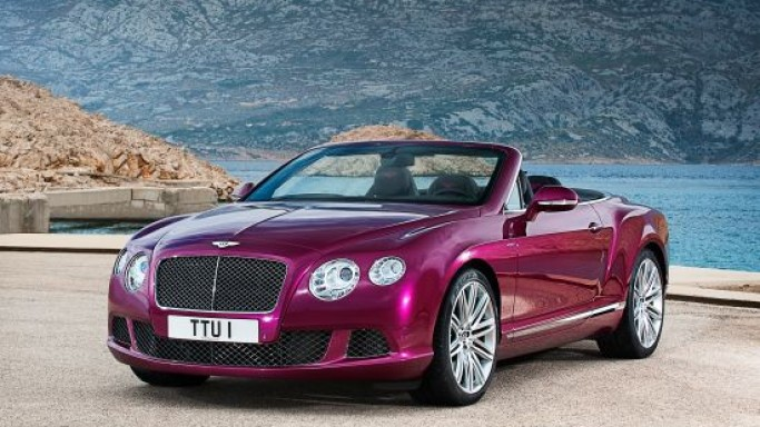 Bentley's World's Fastest Four-Seat Convertible to debut at Detroit Auto Show 2013