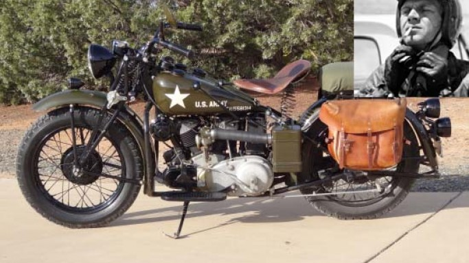 2013 Las Vegas Antique Motorcycle Auction features 600 Bikes with 3 of Steve McQueen's