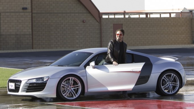 Robert Downey Jr. drives Audi A7