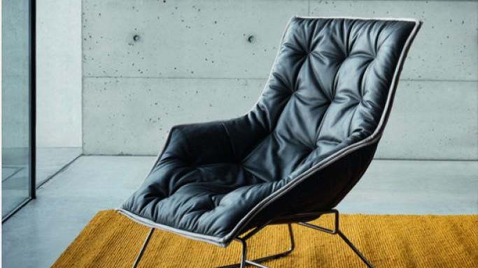 Maserati Lounge Chair by Zanotta is a limited-edition armchair
