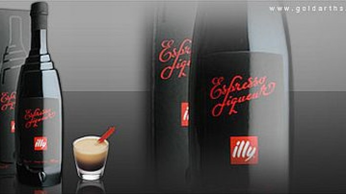 Illy's Espresso Liqueur – A blend of espresso and alcohol