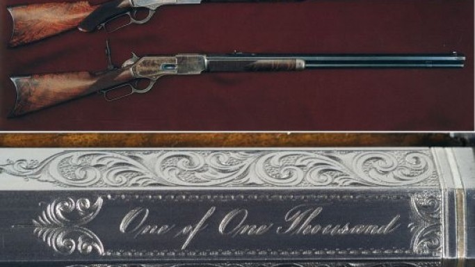 Most desirable 'One of One Thousand' Winchester 1876 up for grabs