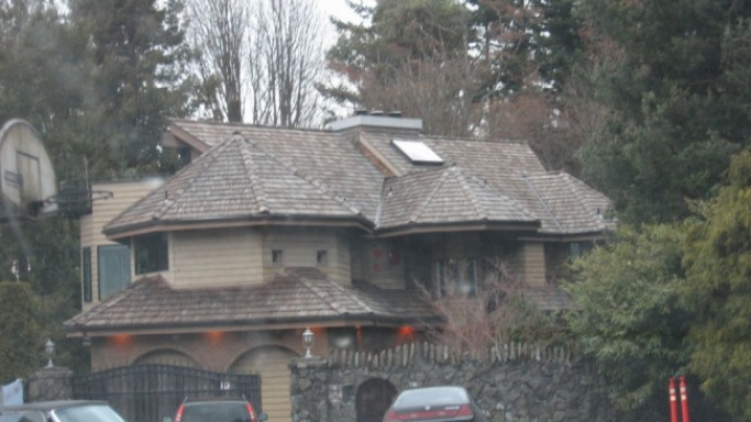 photo: house/residence of cool 80 million earning Seattle, WA, USA-resident
