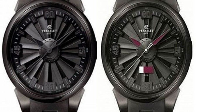 Perrelet's limited edition turbine timepiece for Qatar