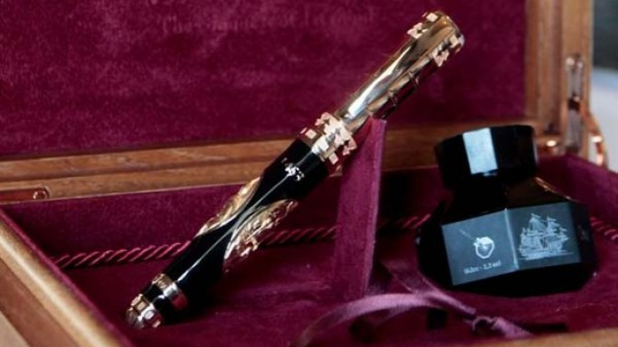 1453 Istanbul'Un Fethi Handcrafted pen from Omas: Journey back in history