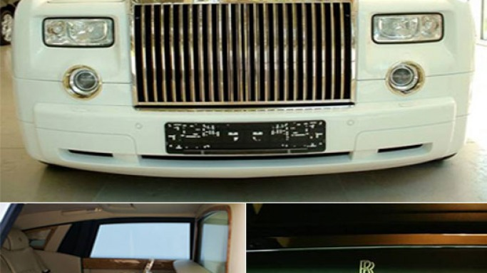 Most expensive Rolls Royce Phantom in solid gold sold for $8.2M