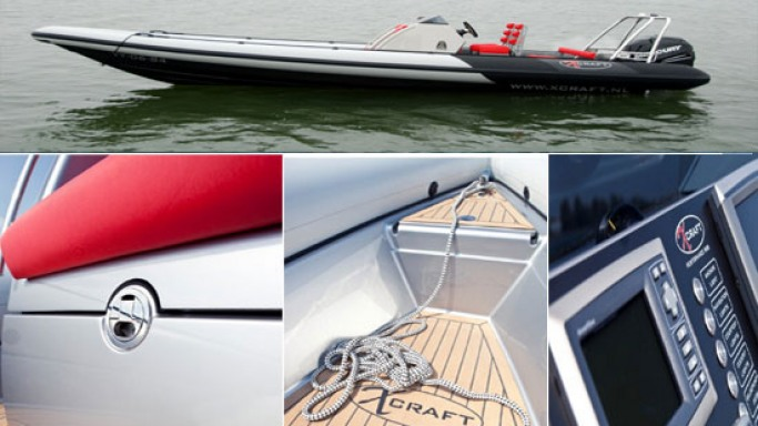 X-Craft launches an ultra-light inflatable boat with carbon fiber body
