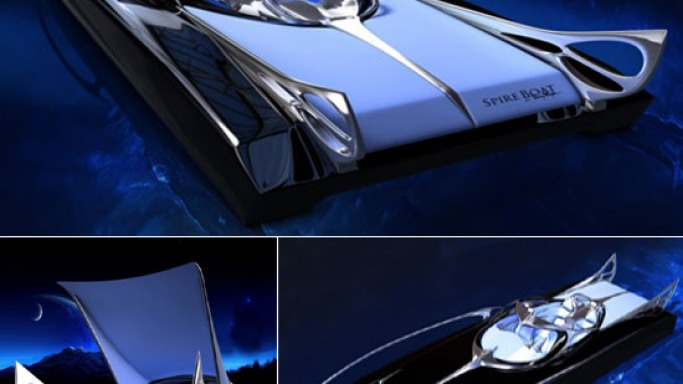 Thierry Mugler's batman inspired speed boat concept is for sci-fi lovers