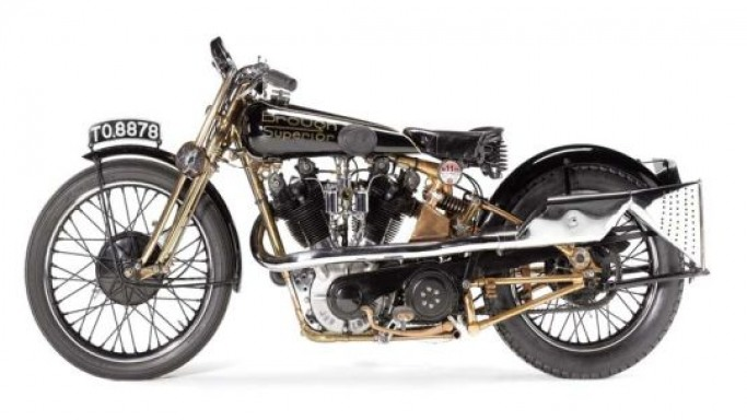 Iconic 'Moby Dick' – the fastest motorcycles of the 1920s to Sell at Bonhams