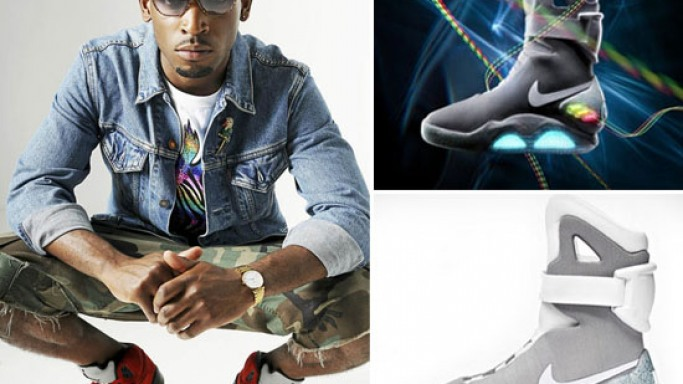 British Rapper buys first pair of Nike Air Mag 'Back to the Future' sneakers for $37.5k