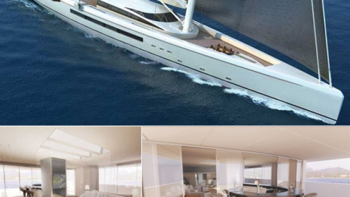 The Mantis 80m unveiled at the Monaco Yacht show is the most beautiful sailing yacht