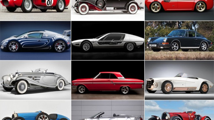 Most expensive classic cars sold at auction  Bornrich