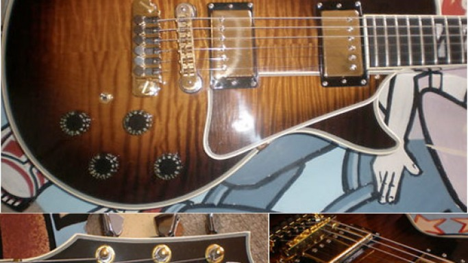 Gibson Les Paul 25/50 limited-edition guitar from 1978 listed for £100,000 at eBay