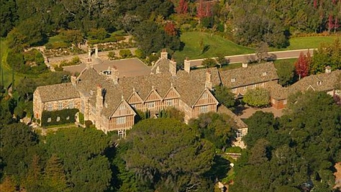 Historic Tobin Clark Estate in Hillsborough, California up for auction