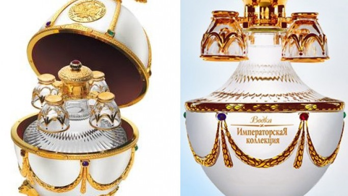 Ladoga releases Fabergé-inspired eggs onto the UK market filled with premium vodka