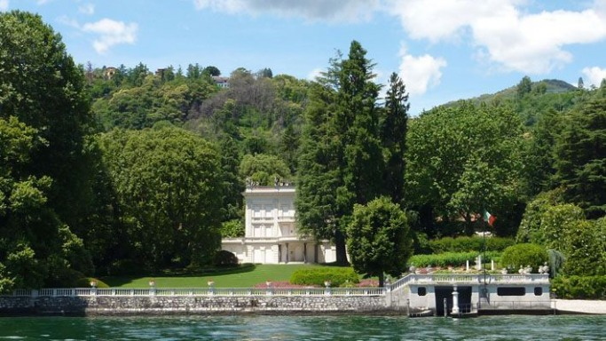 photo: house/residence of clever 850 million earning Lake Maggiore, Italy-resident