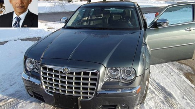 Obama's Chrysler 300 is up on eBay for $1 million