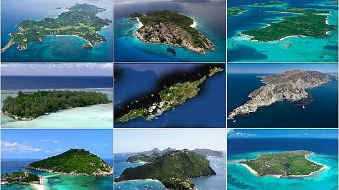 Luxury island holiday spots of the rich and famous