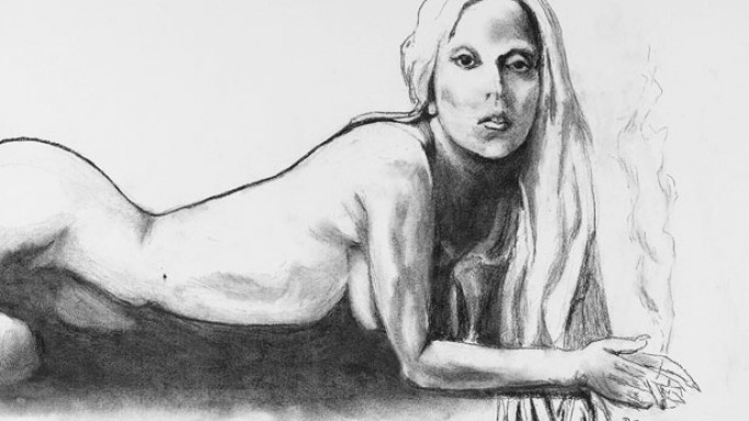 Lady Gaga's Nude Sketch