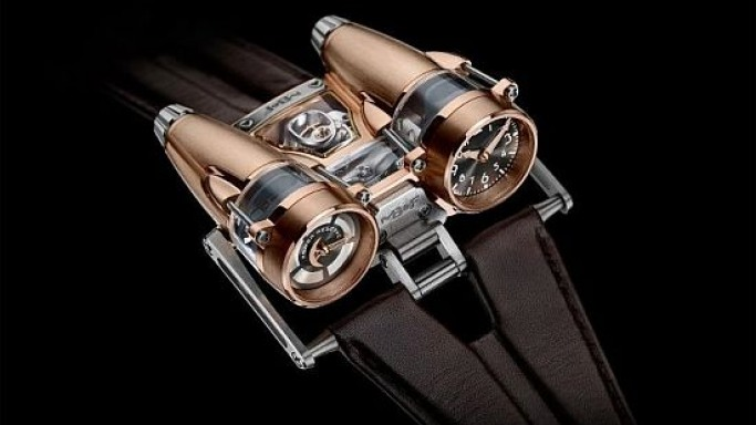 MB&F's HM4 RT is a high-tech flying machine for the watch collectors