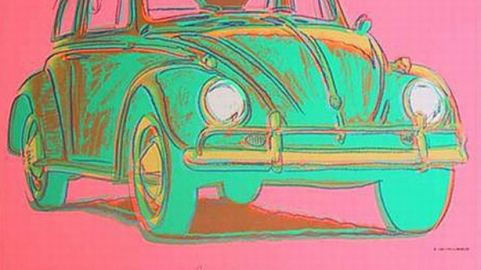 Andy Warhol's car art will be on every auto lover's wishlist