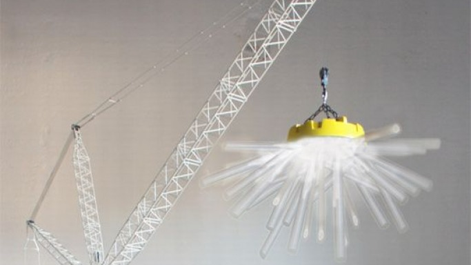 Charlie Davidson to debut his Iconic Crane Lamp Fixtures in Milan fair
