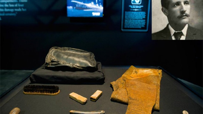Titanic artifacts linked to bridge officer William Murdoch to be auctioned