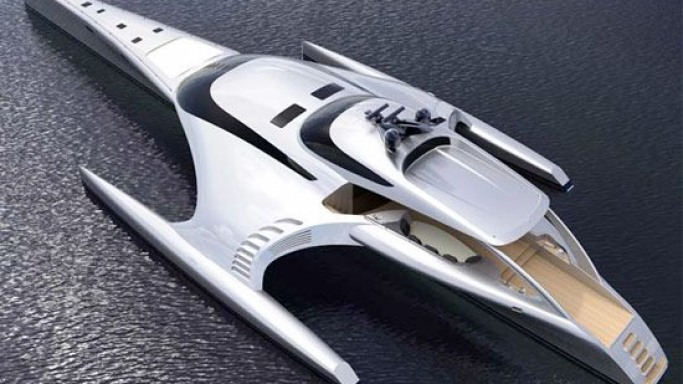 iPad-controlled luxury yacht Adastra unveiled in China