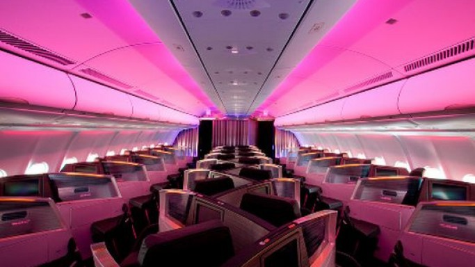 Virgin Atlantic's new Upper Class Cabin for the high flyers