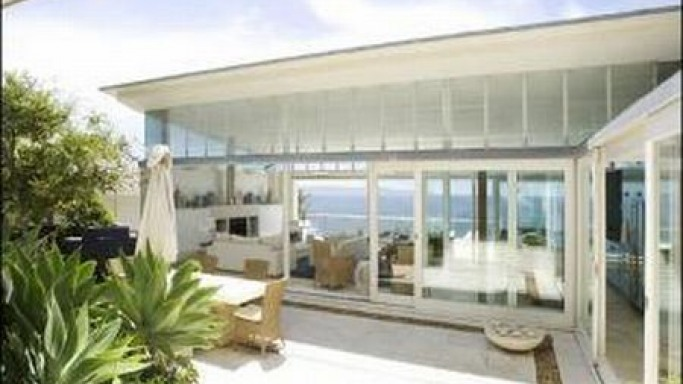 george michael owns a plush home in the palm beach in australia