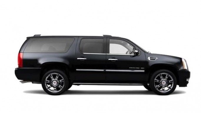 Cadillac Escalade car - Color: Black  // Description: classy
