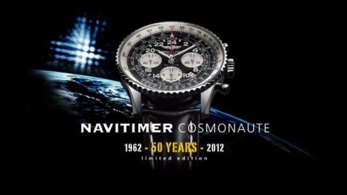 Breitling Navitimer Cosmonaute marks the 50th anniversary of the first spacegoing chronograph