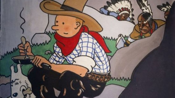 Tintin Comic Book Cover Fetches $1.6M