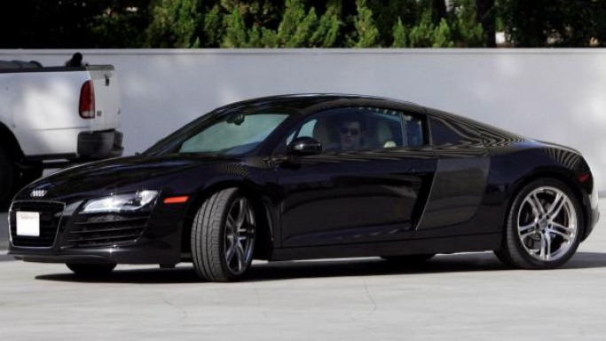 Audi R8 car - Color: Black  // Description: amazing