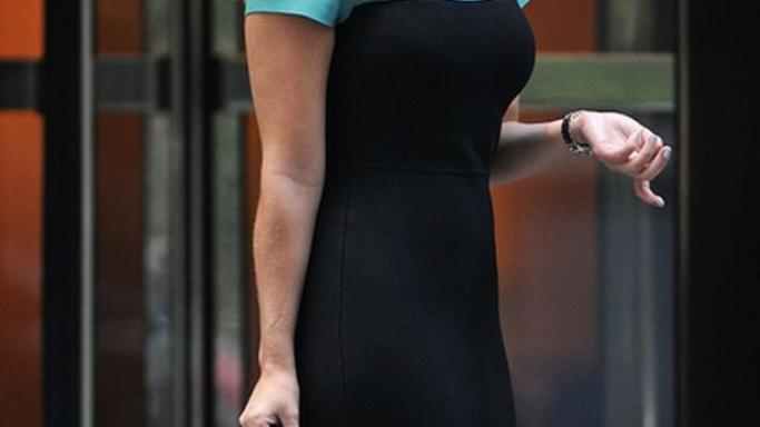 Elisa Cuthbert has been spotted wearing the Ray-Ban 3016 Clubmaster Sunglasses occasionally