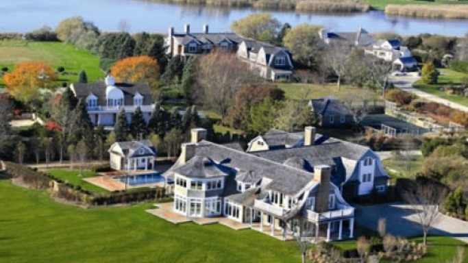 Jennifer Lopez house in Water Mill area, New York