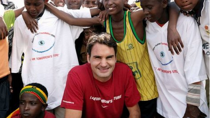 Roger supports UNICEF