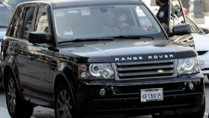 Richie loves driving around in her $50000 Range Rover Sport.