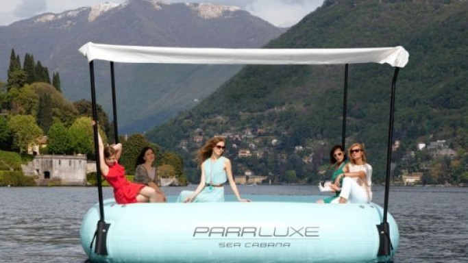 The $35,000 sea cabana from ParrLuxe is for the filthy rich yacht owners