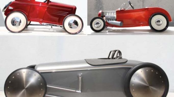 Collectible Hot Rod Pedal Cars marks the 80th anniversary of 1932 Ford Deuce