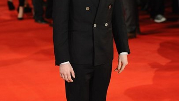 Danielle Radcliffe was wearing the Bert Cap Toe Oxford Shoes at the premiere of his movie 'Woman in Black' in January 2012.