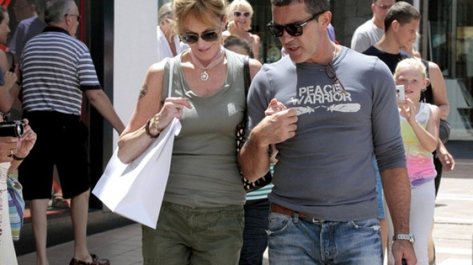 The actor was spotted in the beach resort of Costa del Sol last year
