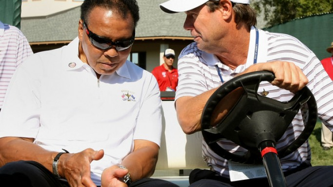 The Oakley Oil Rig sunglasses are a pair of high end sunglasses from Oakley and Muhammad Ali was spotted in a pair quite recently.