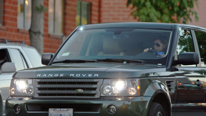 The classy yet speedy Range Rover SUV is Ashley Tisdale's favorite vehicle and she can be spotted driving it around Los Angeles often.