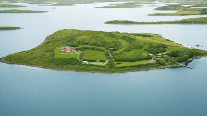 Egyptian-Irish businessman Nadim Sadek is selling Inish Turk Beg island for just £2.85 million